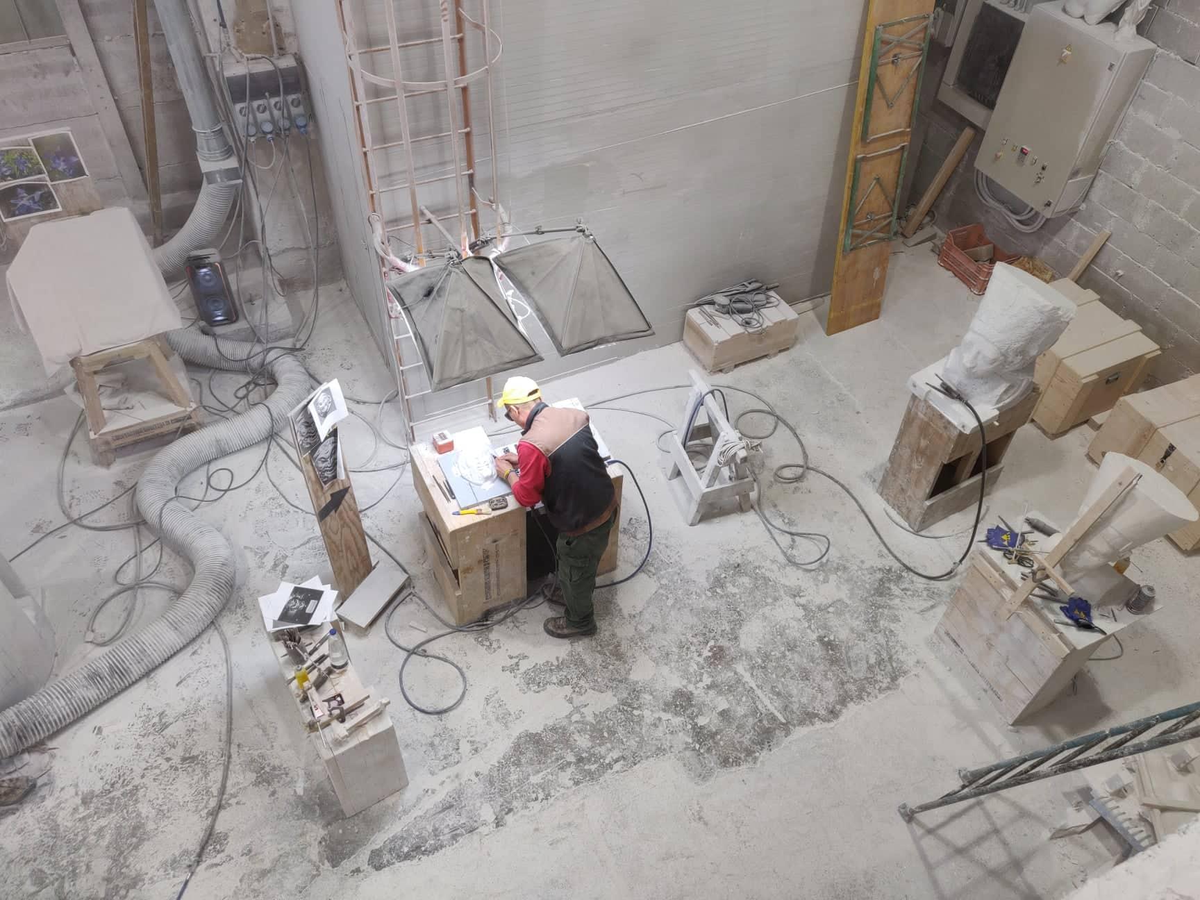 A sculpture Workshop: Cooperativa Scultori Carrara - Ph Michele Ambrogi