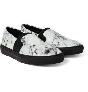 Balenciaga marble print sneakers