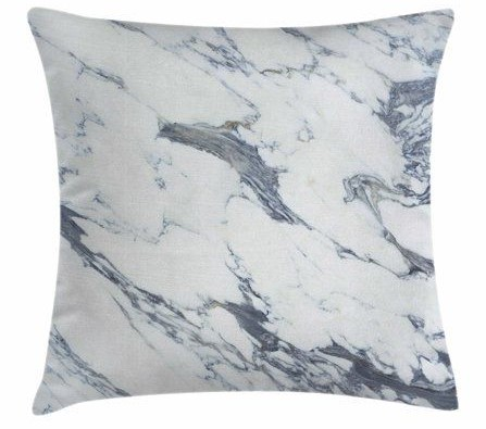 Marble pillow by Ambesonne