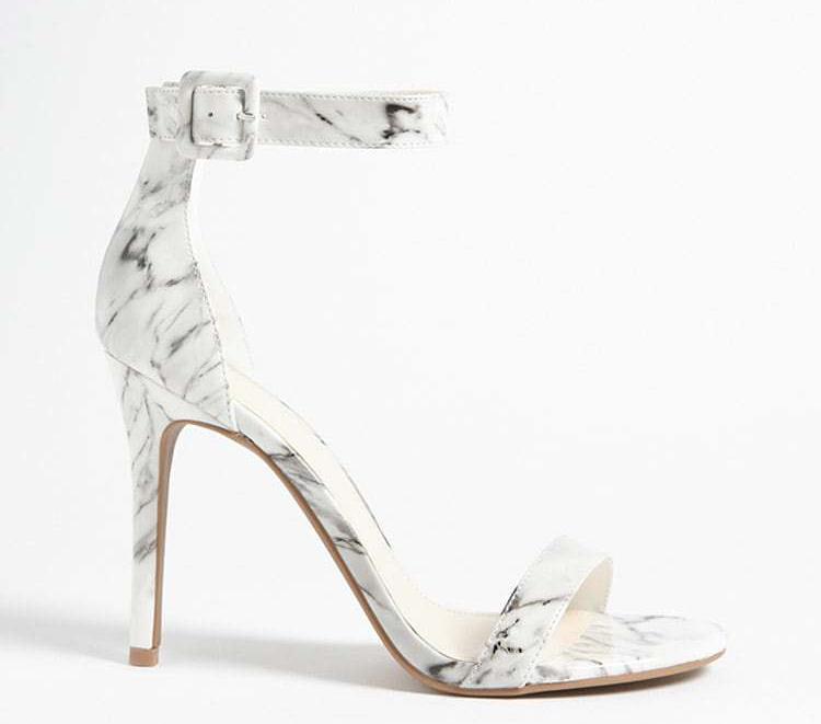 Forever 21 marble stilettos