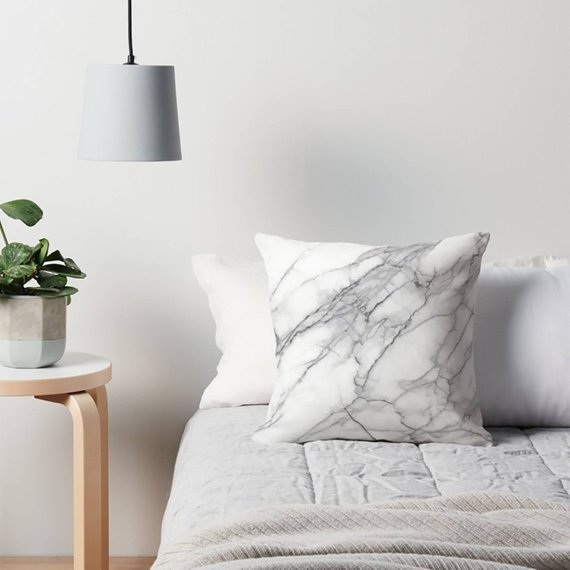 Marble pillow by W.Francis