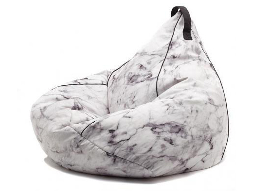 Marble bean bag by Comfort Zone