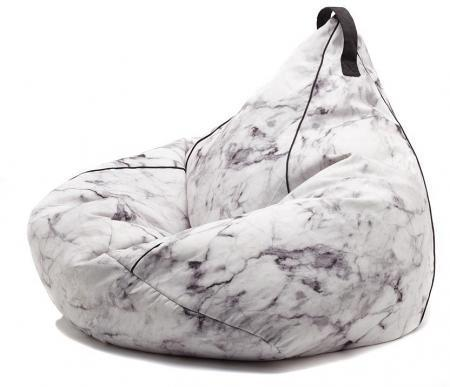 Marble beanbag chair by Comfort Zone
