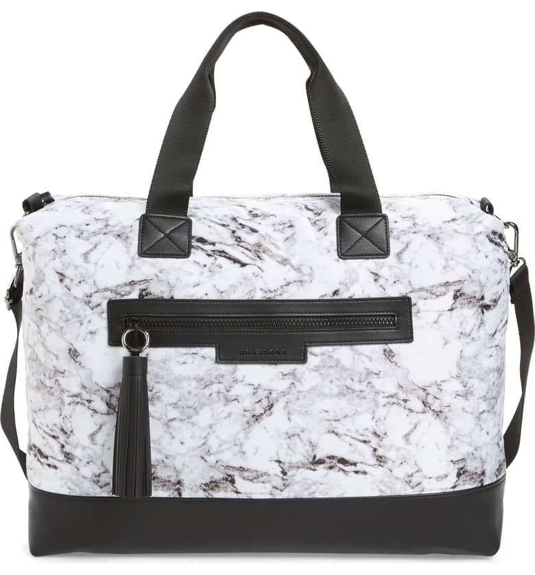 Marble print gym bag by balsa201