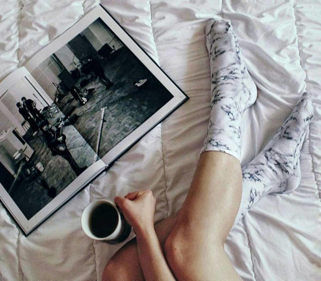 Living Royal marble socks - picture by Kautarbijou instagram