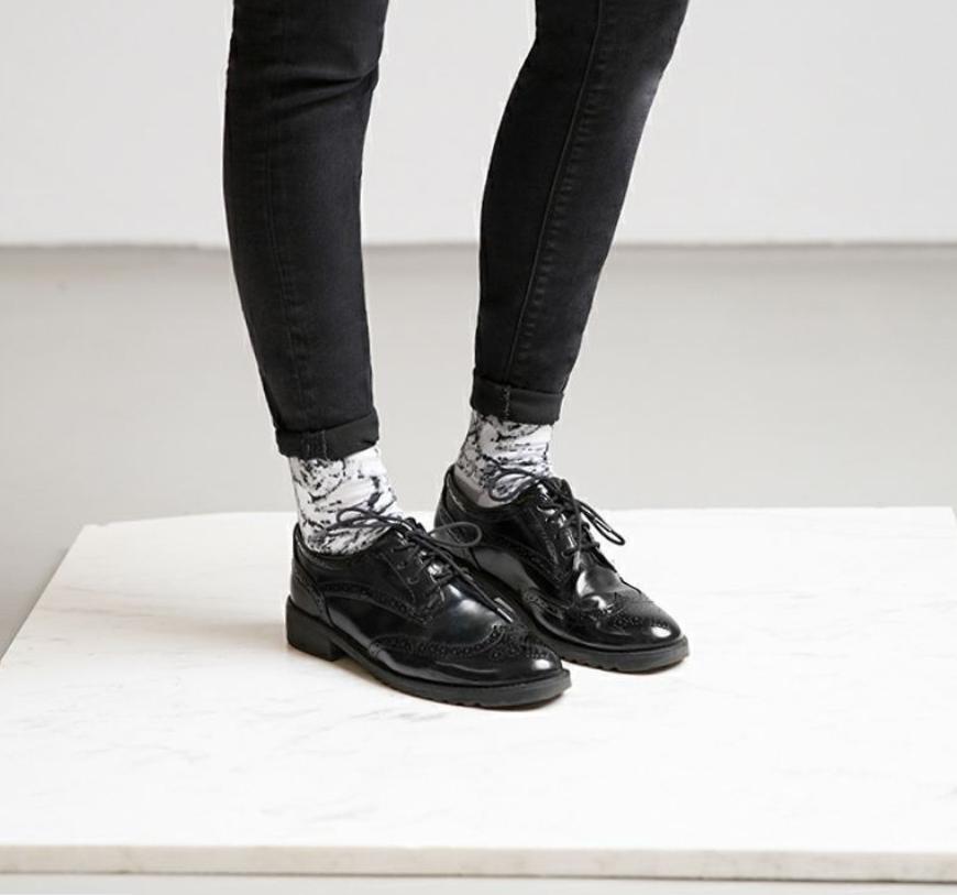 Marbled socks by Chaos Society