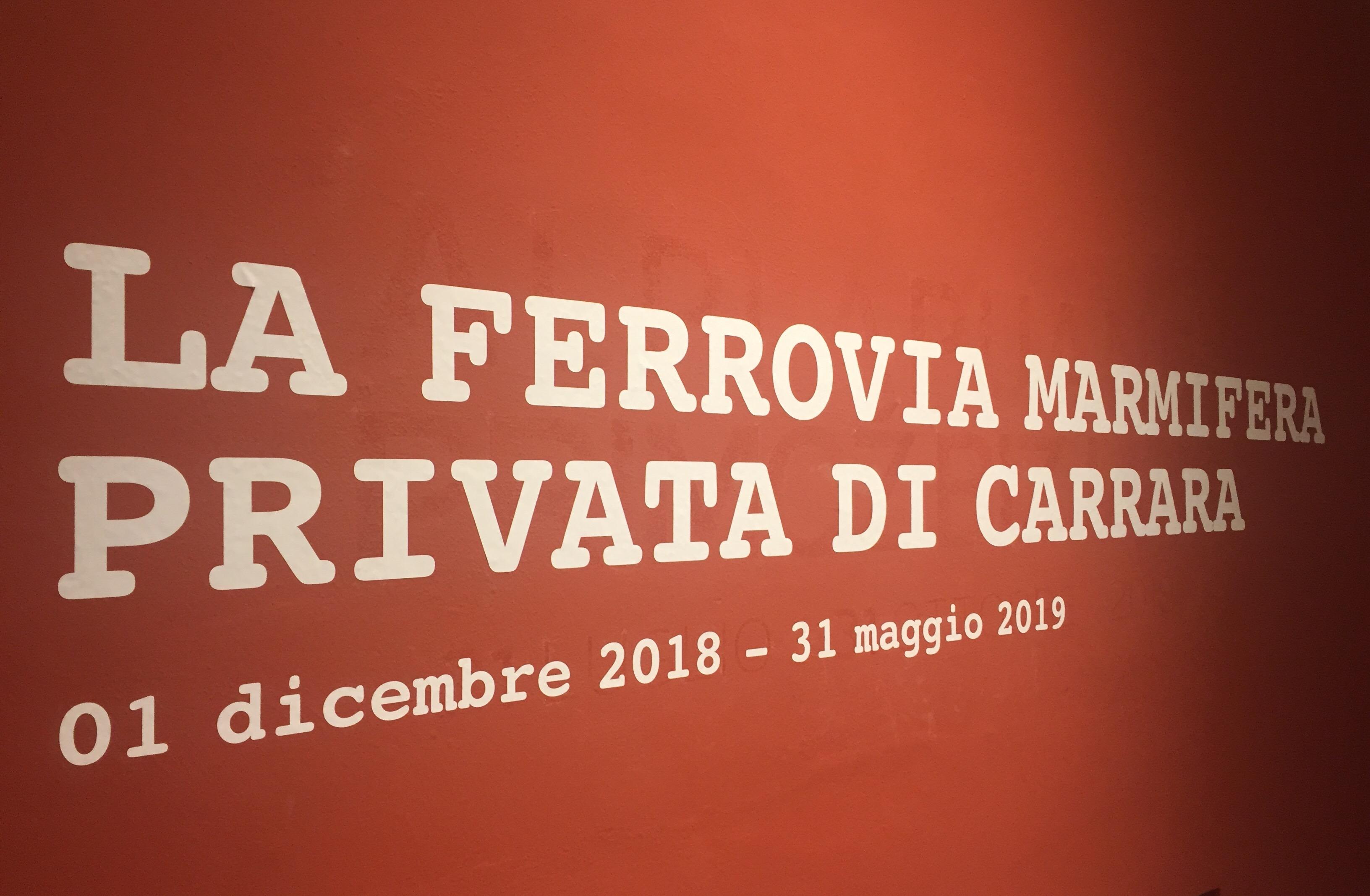 La Ferrovia Marmifera Privata di Carrara