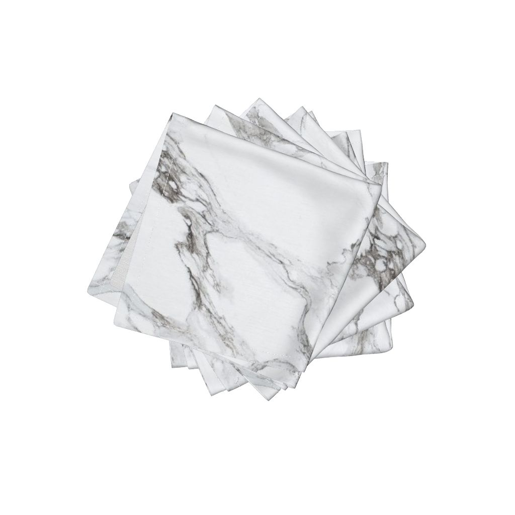 Marble napkins by Willow lane textiles