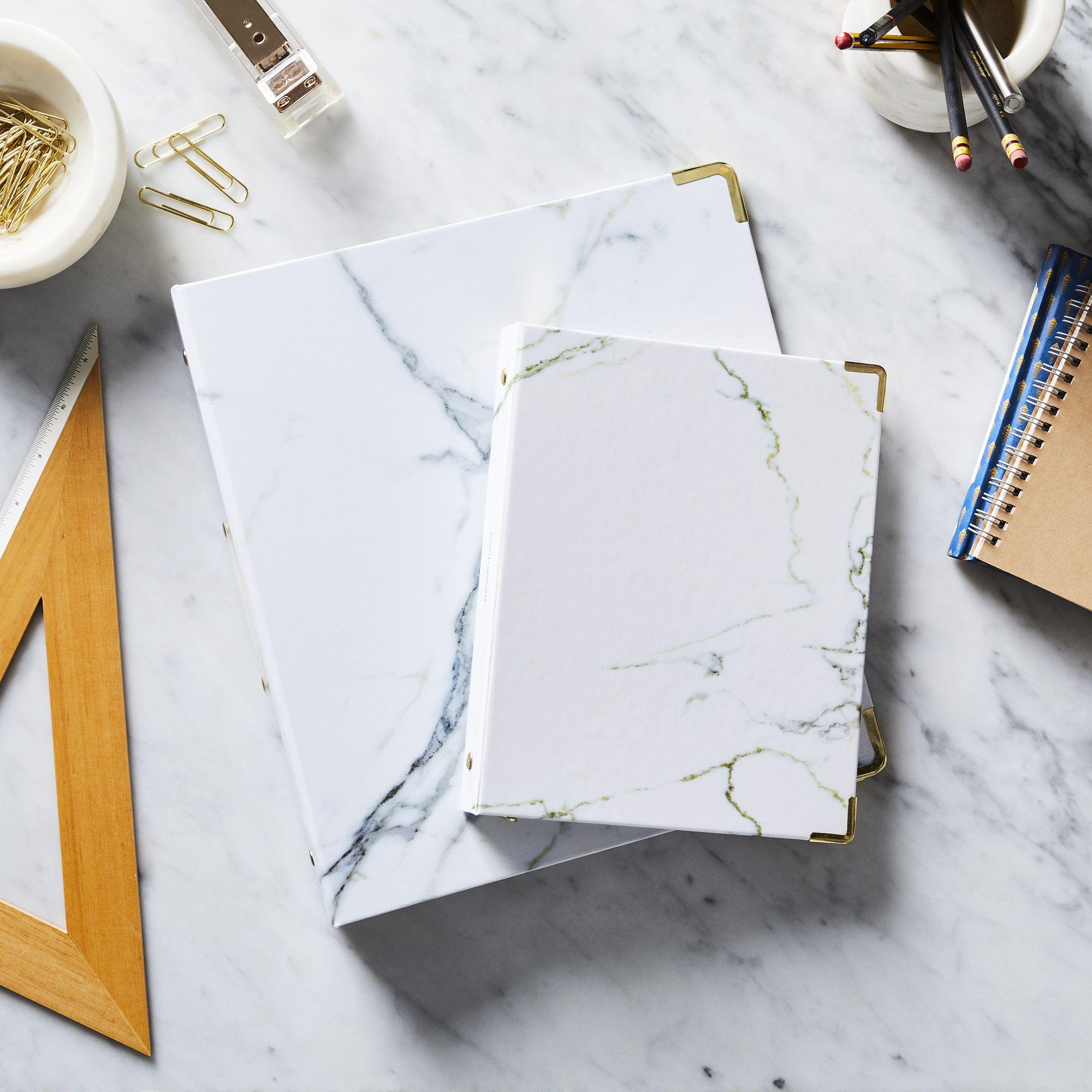 Marble binder by Russel+Hazel