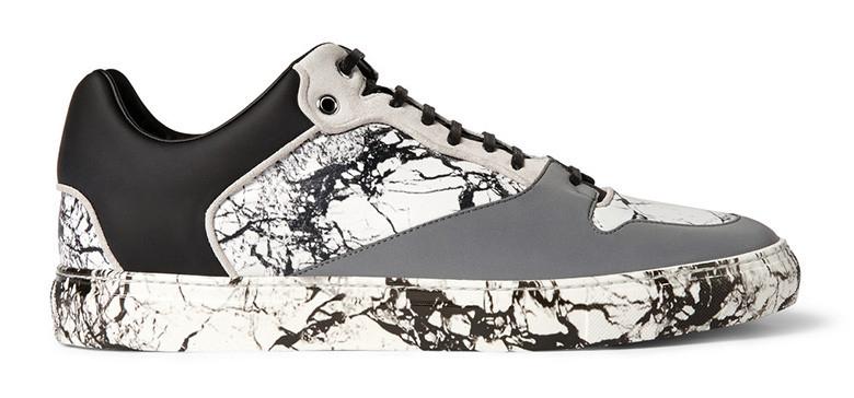 Marble print suede sneaker by Balenciaga -2014