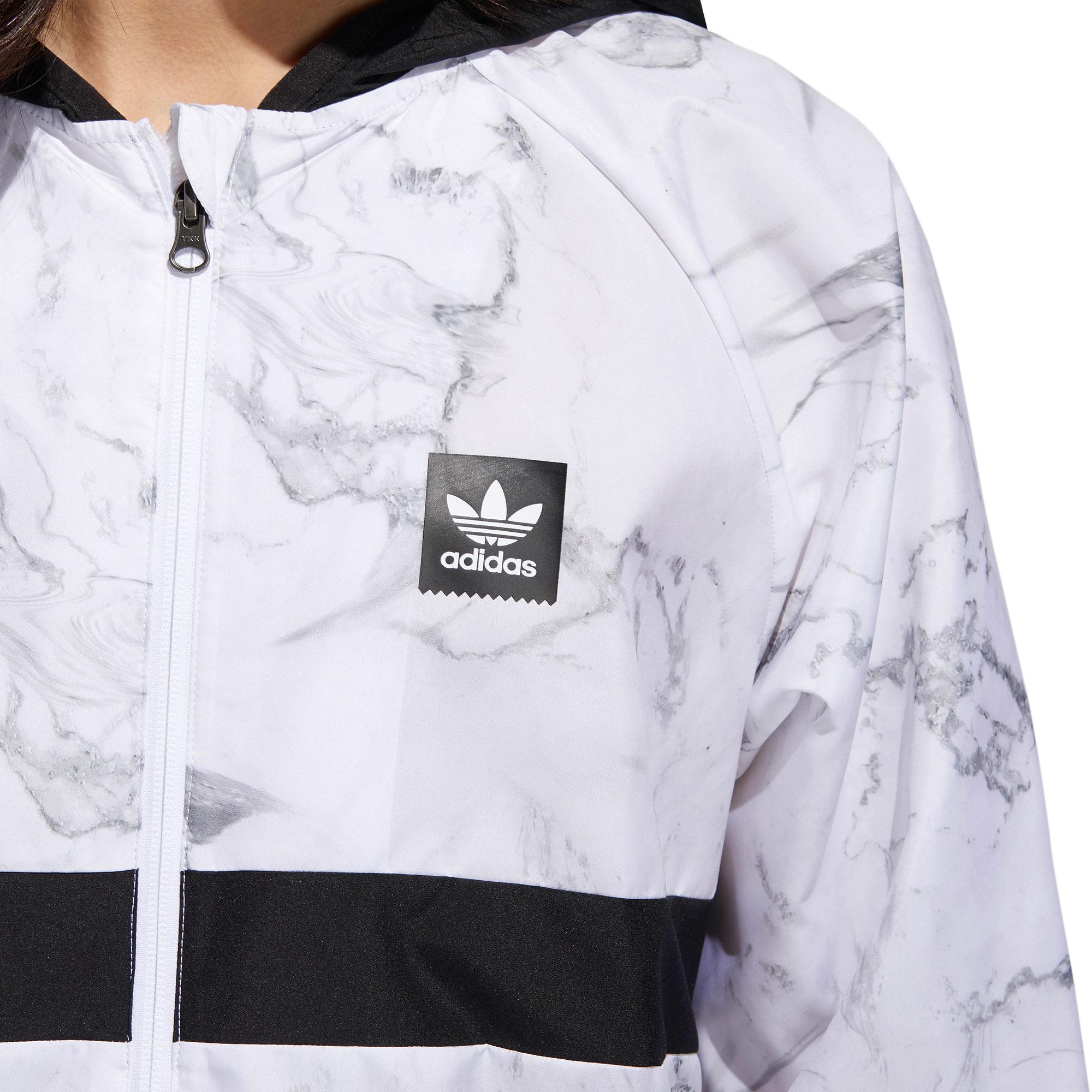 Adidas marble packable wind jacket - 2018