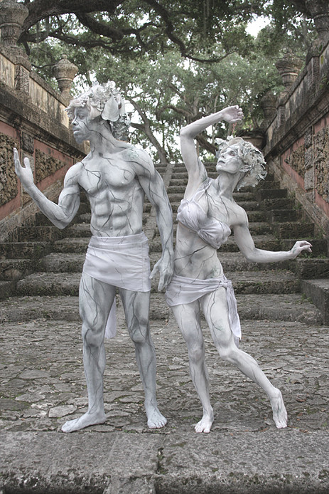Marble classic statues costume (source: deviousbodyart.com)