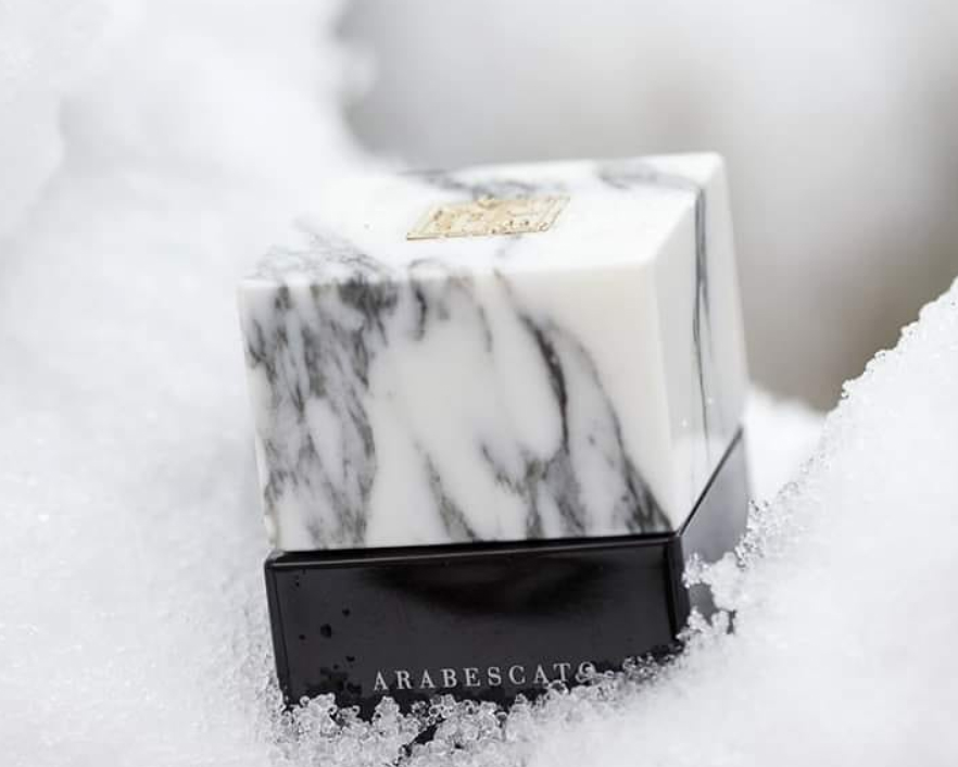 "The original marble parfume: ""I Profumi del marmo"""