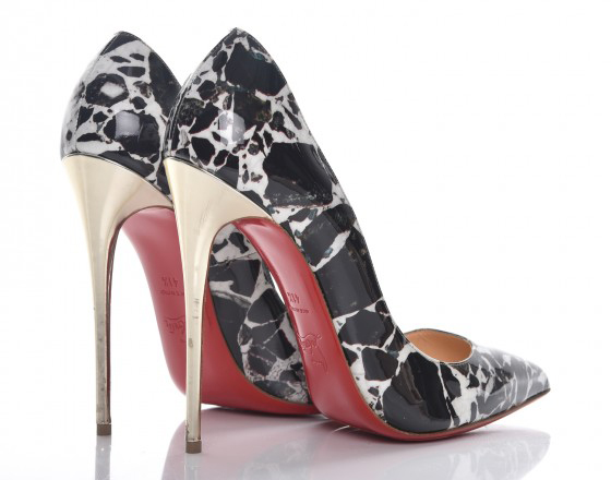 brand new 00564 f04ba Great shoes designers inspired by stones: Walter de Silva ...