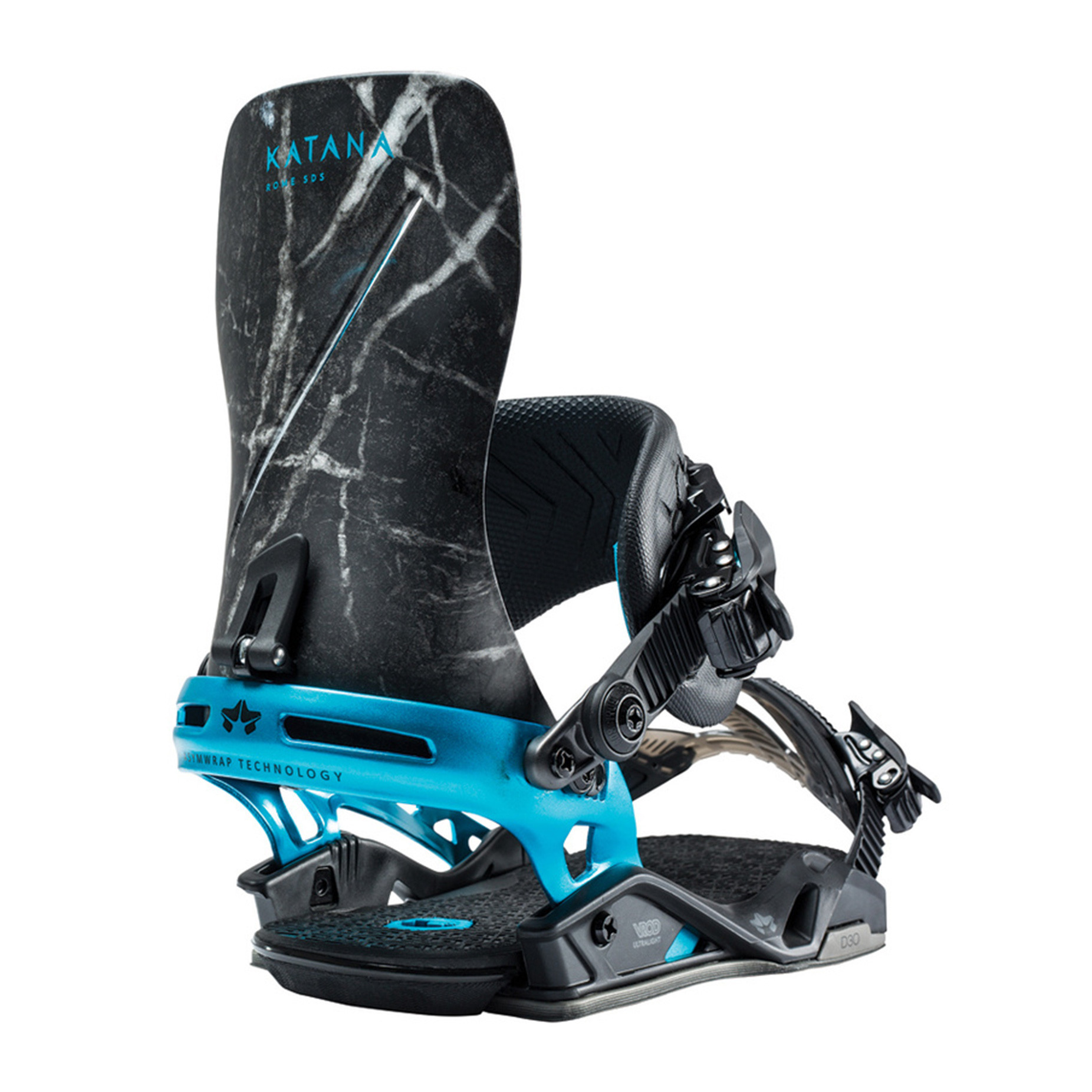 Marble Katana Snowboard Bindings by Rome Snowboards (2019 collection)