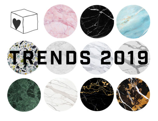 Marble textures trends 2019