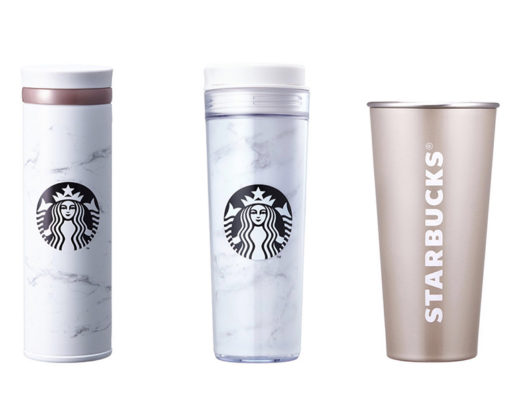 Starbucks Korea Marble collection: marble thumbler and marble thermos