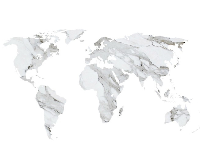 GEOGRAPHY OF MARBLE TEXTURE TREND