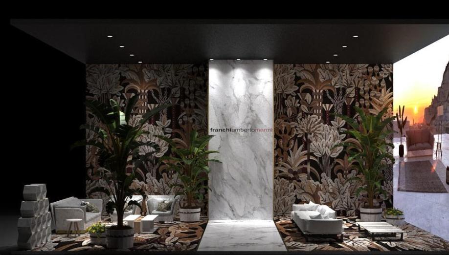 Franchi Umberto Marmi HOME DESIGN - Salone del mobile Milano - PAD 3 stand H39