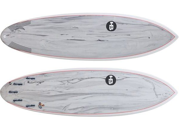 Hot buttered marble surfboards
