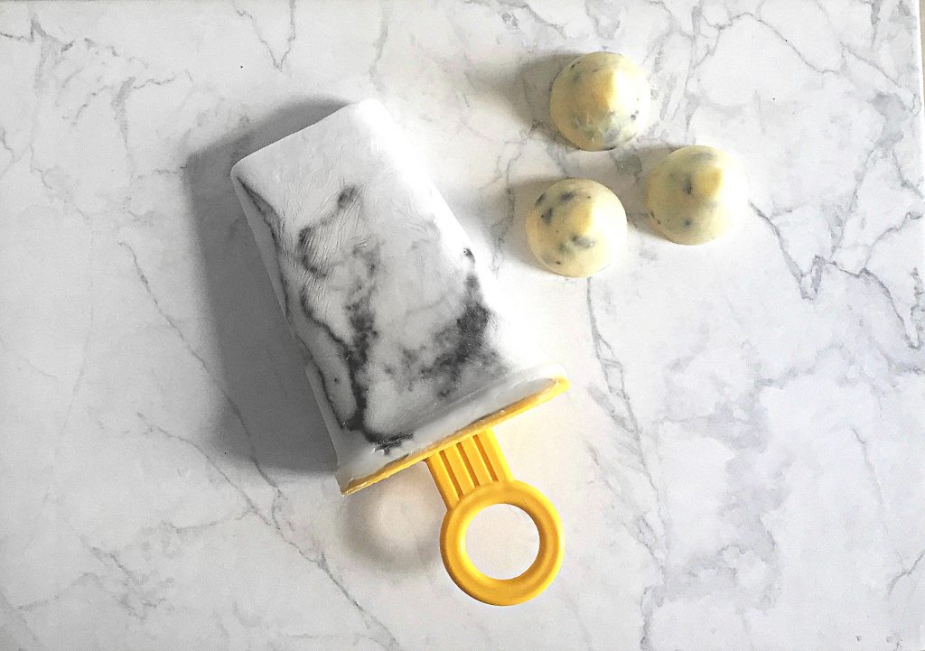 Hand made Marble popsicle by Eama's musings - eamamoosa.com