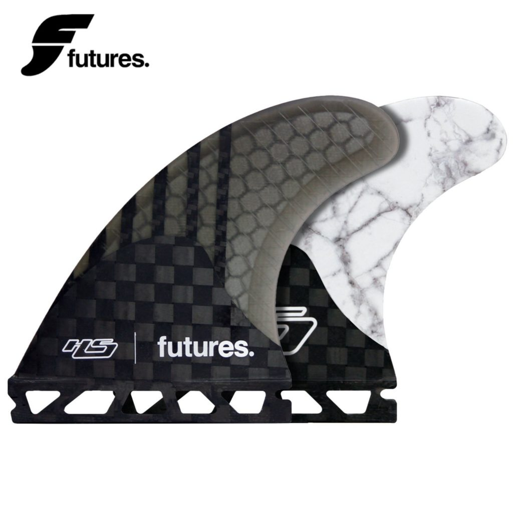 Future HS2 Generation White Marble Surfboard Fins