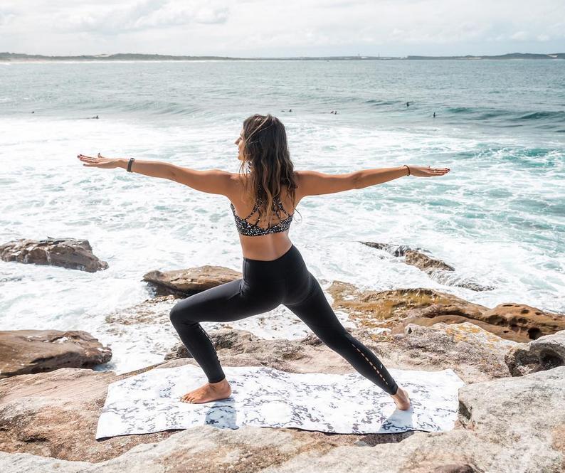 Svarga Yoga mat by State of Shanti