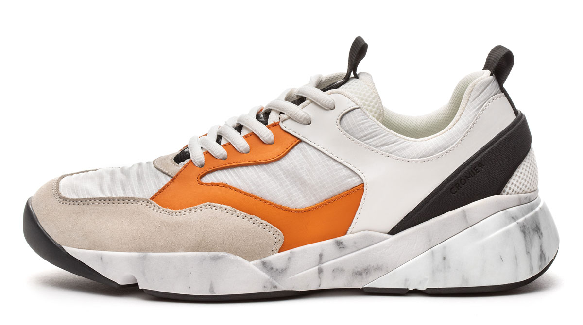 Cromier marble sneaker - made in Italy