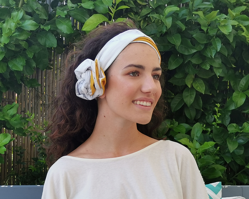 l'ughetta marble turban - Arabescato Carrara -the turban you can sculpt