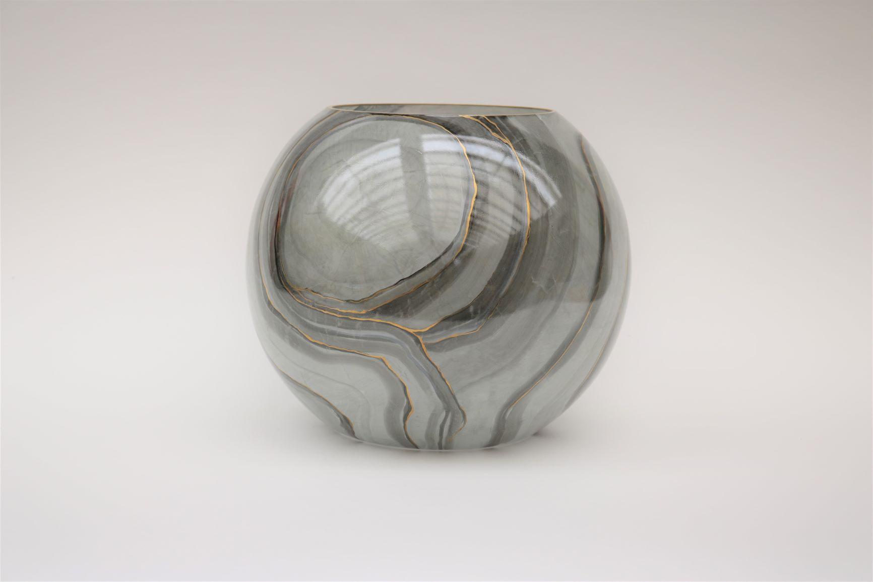Vetrerie di Empoli marble-like glassware - hand made in Italy