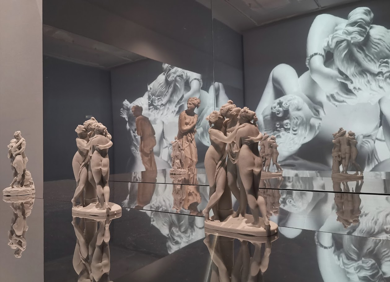 A spectacular game of mirrors - Canova the journey to Carrara