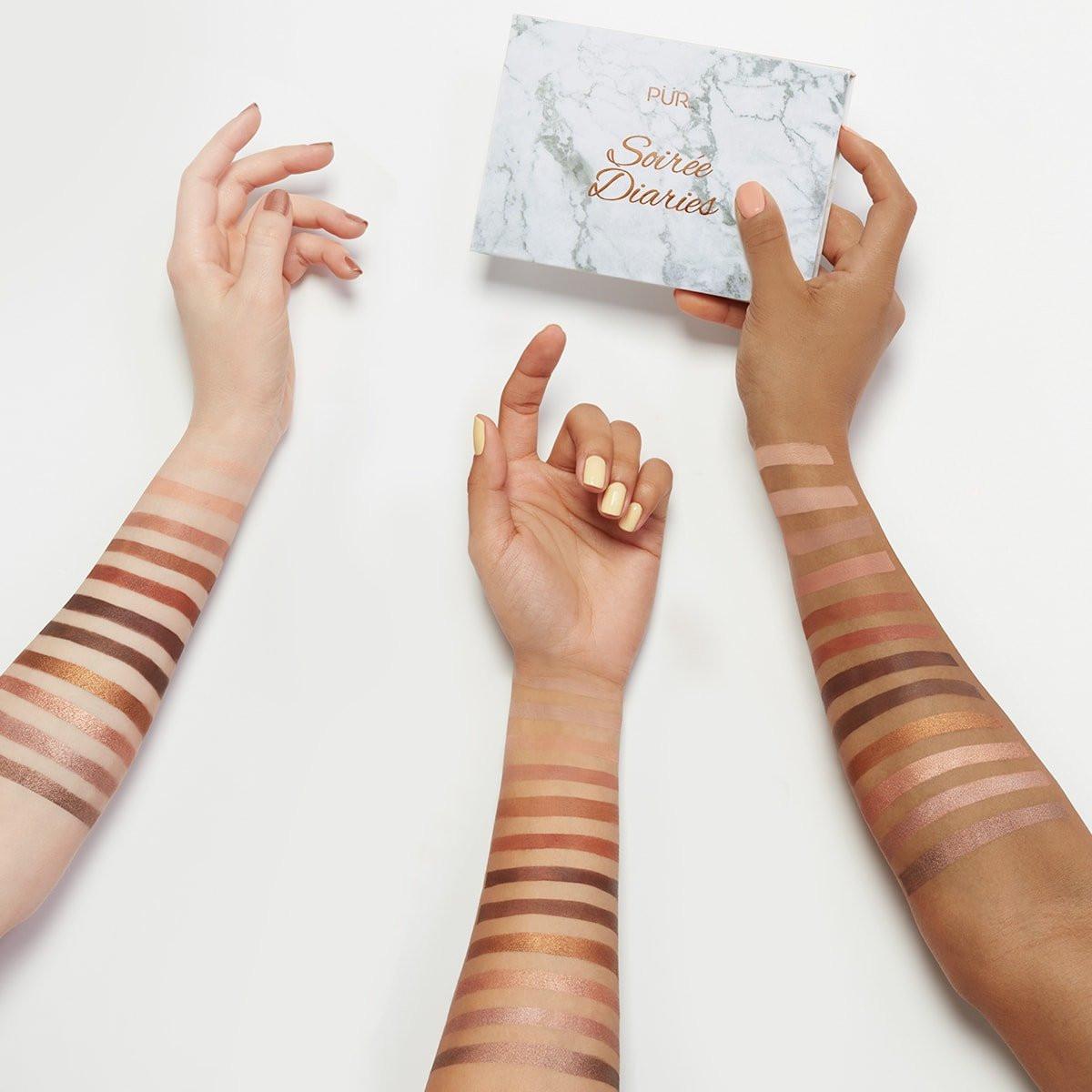 Pür Cosmetics eyeshadow Soirée Diaries palettes
