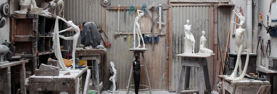 Carrara studi aperti - Smail Zizi sculpture studio