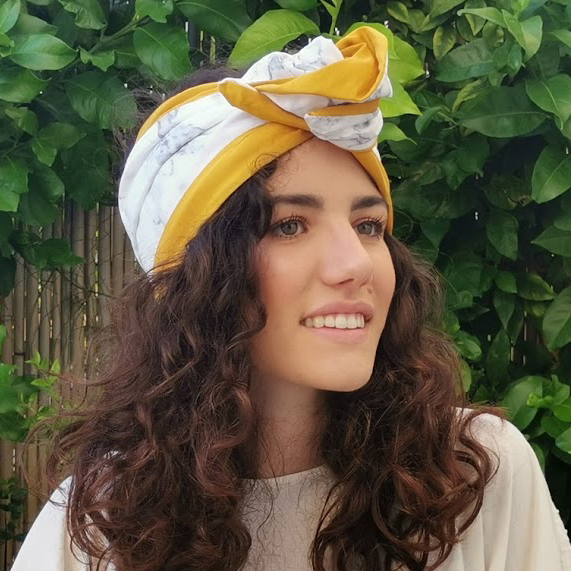 Arabescato Carrara marble turban by l'ughetta & EVERYTHING MARBLE
