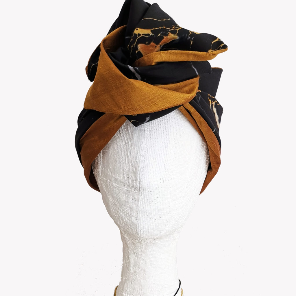 portoro marble turban by EVERYTHING MARBLE