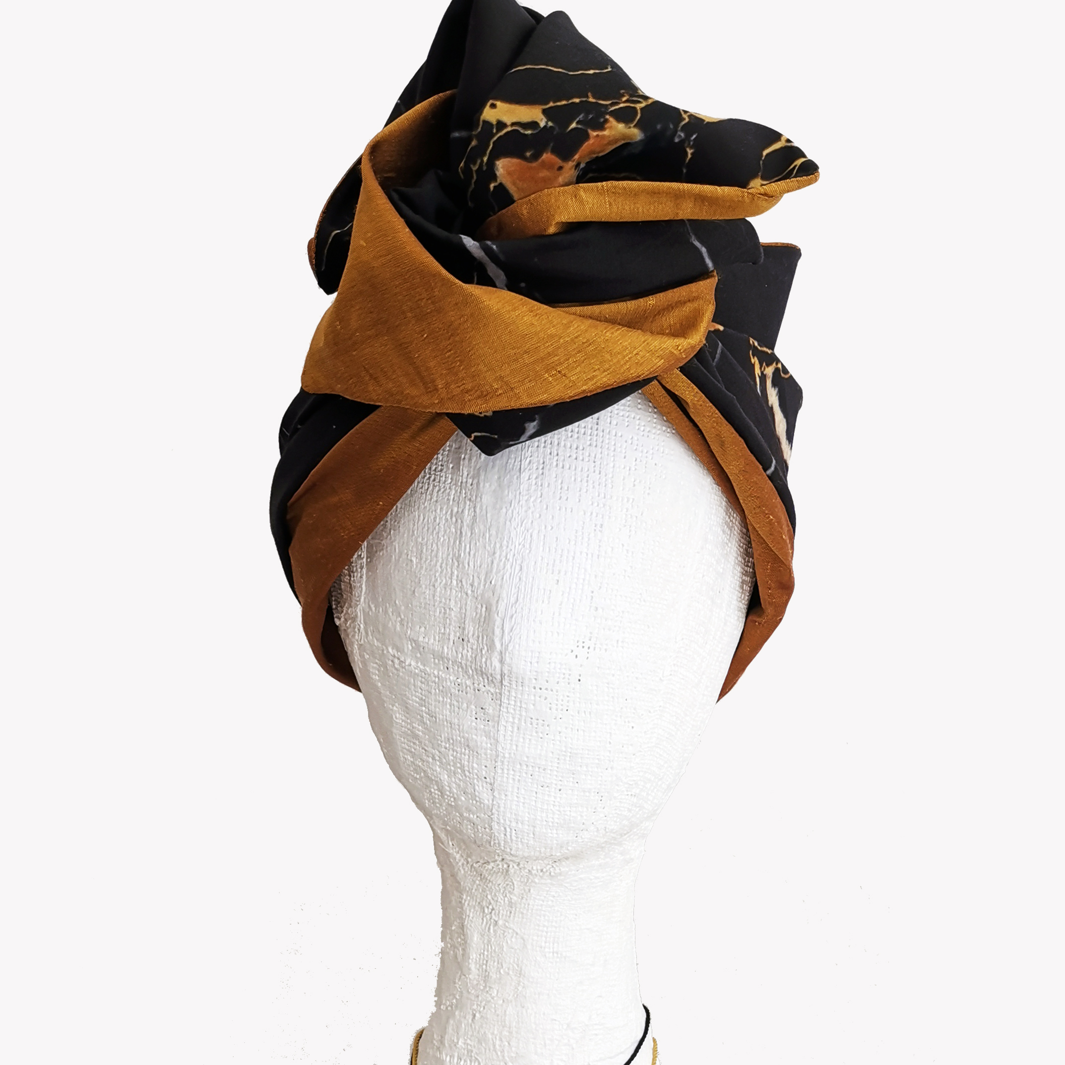 portoro marble turban by EVERYTHING MARBLE