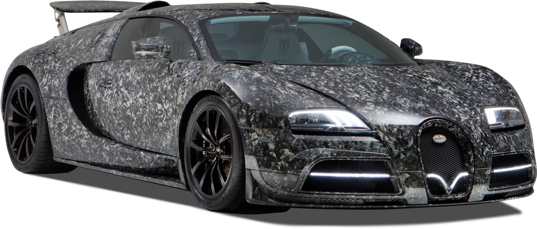 The BugattiVeyron Vivere Final Diamond Edition - marble collage carbon fabric