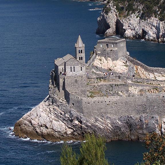 Portovenere, Liguria, Italy, between Carrara and the Cinque Terre