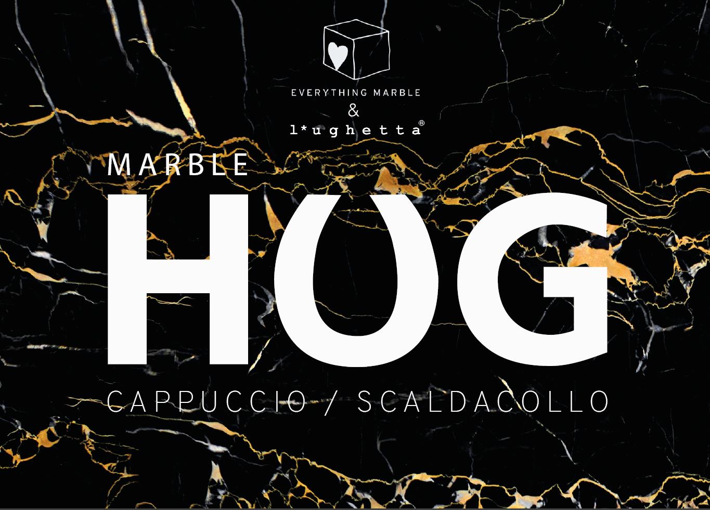 Marble HUG - cappuccio scaldacollo by l'ughetta