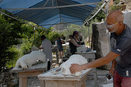 Al Nassar Studio - Sculpting Classes, Carrara BEST CREATIVE DESTINATION